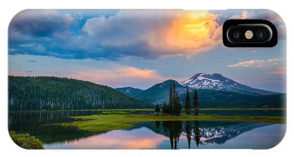 Sister Sunrise At Sparks Lake IPhone Case