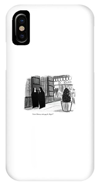 Sister Theresa IPhone Case