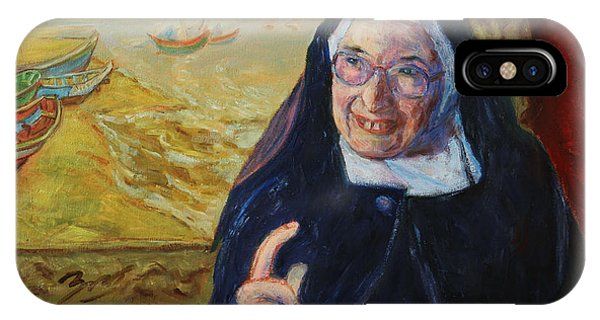 Sister Wendy IPhone Case