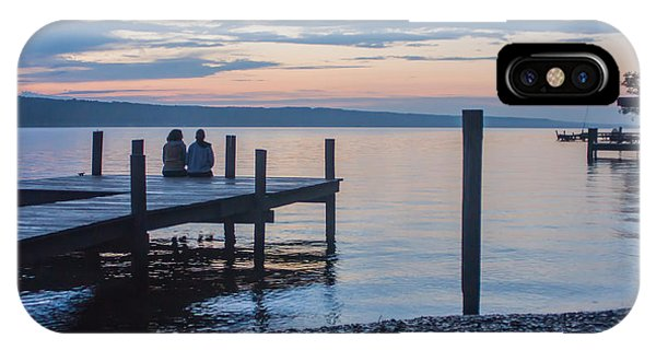 Sisters - Lakeside Living At Sunset IPhone Case