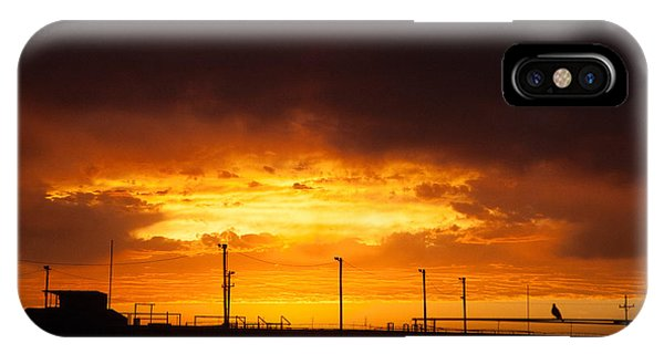 Sit A Spell Sunset IPhone Case