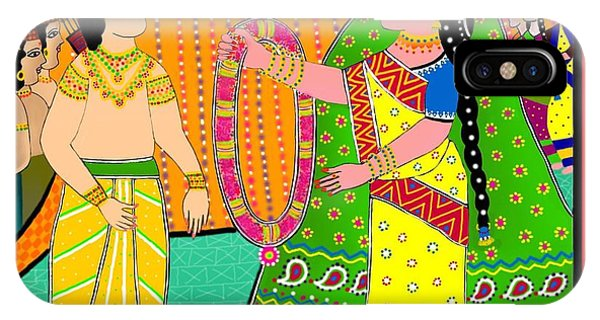 Sita's Wedding IPhone Case