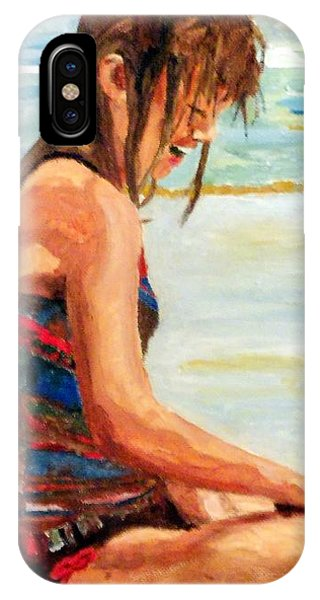 Sit'n In The Surf IPhone Case