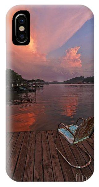Sittin' On The Dock IPhone Case