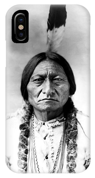 Native iPhone Case - Sitting Bull by Bill Cannon
