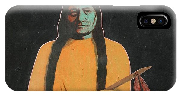 Sitting Bull Phone Case by J W Kelly