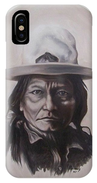 Sitting Bull IPhone Case