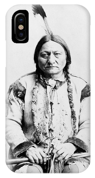 American Indian iPhone Case - Sitting Bull by War Is Hell Store