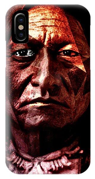 Sitting Bull - Warrior - Medicine Man IPhone Case