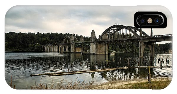 Siuslaw River Bridge IPhone Case