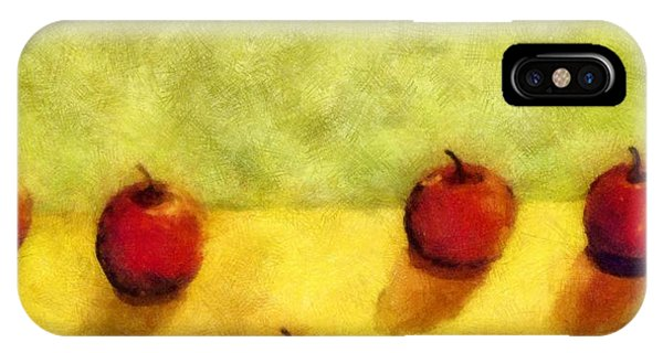 Six Apples IPhone Case