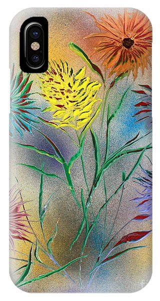 Six Flowers IPhone Case
