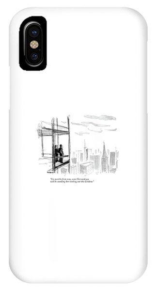 Six Months From Now IPhone Case