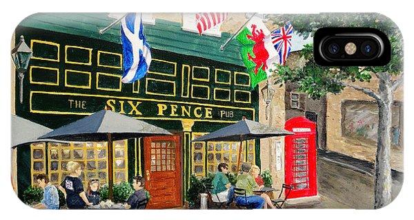 Six Pence Pub IPhone Case