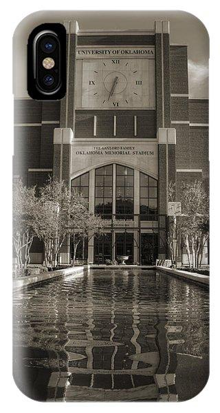 Oklahoma University iPhone Case - Six Thirty Three by Ricky Barnard