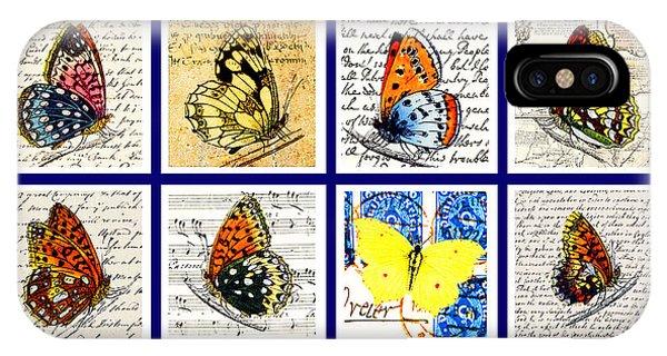 Sixteen Butterflies IPhone Case