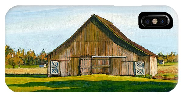 Skagit Valley Barn #3 IPhone Case