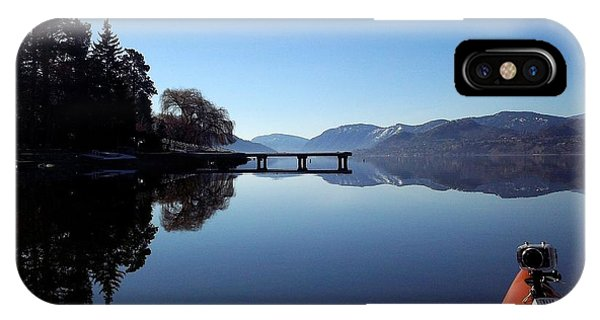 Skaha Lake Calm 2 IPhone Case