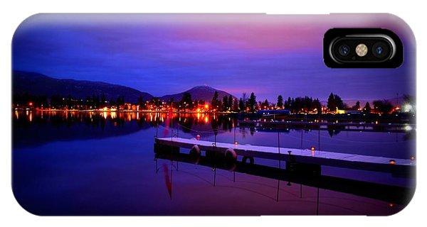 Skaha Lake2 1-27-2014  IPhone Case