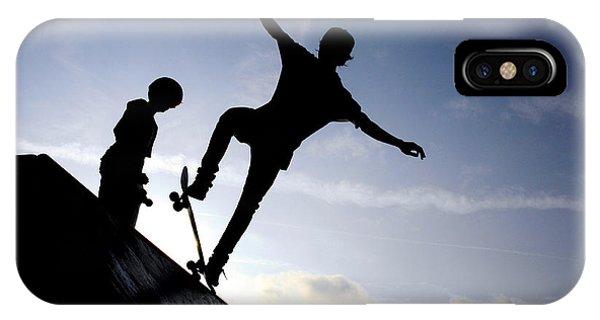 Skateboarders IPhone Case