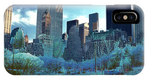Skating Fantasy Wollman Rink New York City IPhone Case