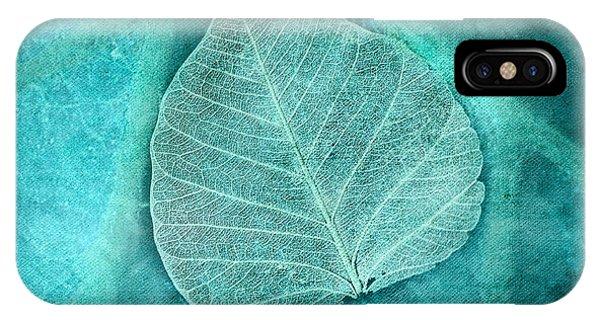 Skeletal Leaf IPhone Case