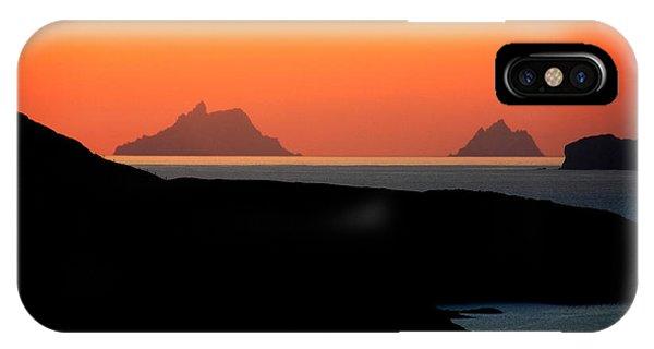 Skellig Islands  IPhone Case
