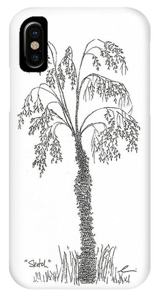 Sketch IPhone Case