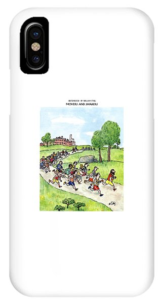 Shaker iPhone Case - Sketchbook Movers And Shakers by William Steig