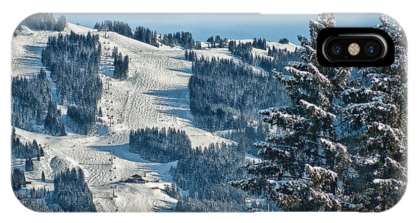 Ski Run IPhone Case