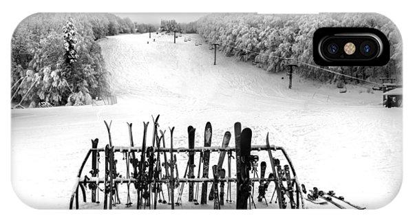 Ski Vermont At Middlebury Snow Bowl IPhone Case