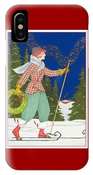 Ski Vogue IPhone Case