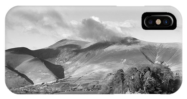 Skiddaw And Friars Crag Mountainscape IPhone Case
