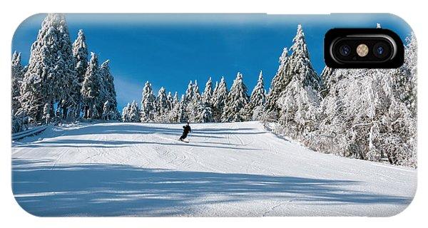 Skiers Paradise IPhone Case