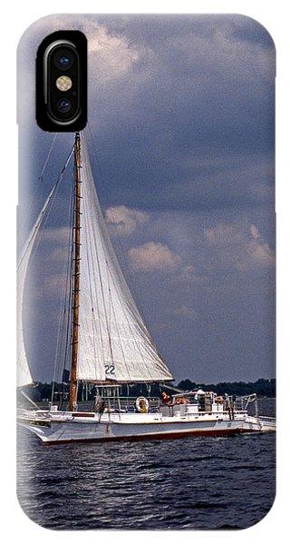 Skipjack iPhone Case - Skipjack Ellsworth by Skip Willits