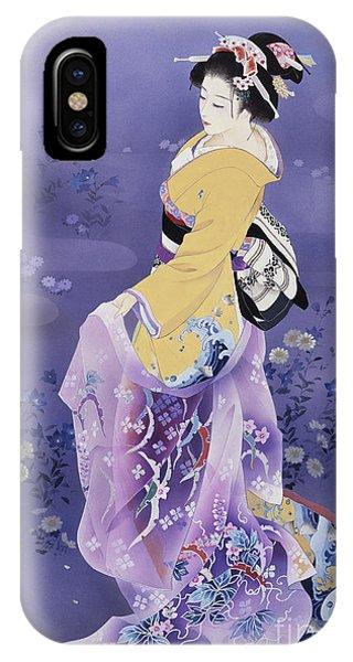 Skiyu Purple Robe IPhone Case