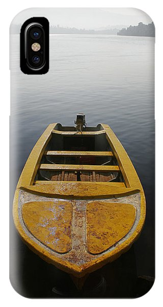 Skc 0042 Calmness Anchored IPhone Case
