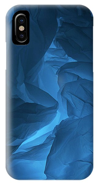 Skc 0247 Mystery In Blue IPhone Case