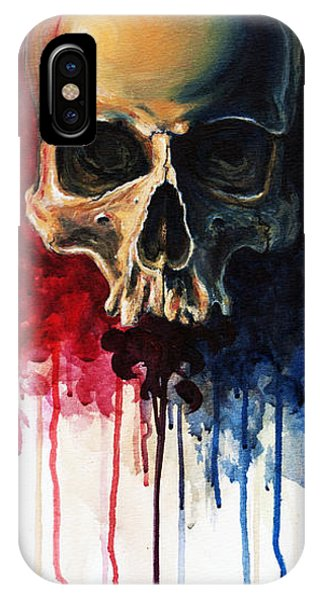 Skull Phone Case by David Kraig