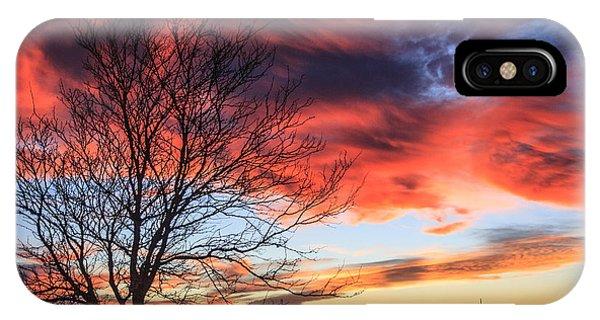 Sky Ablaze IPhone Case