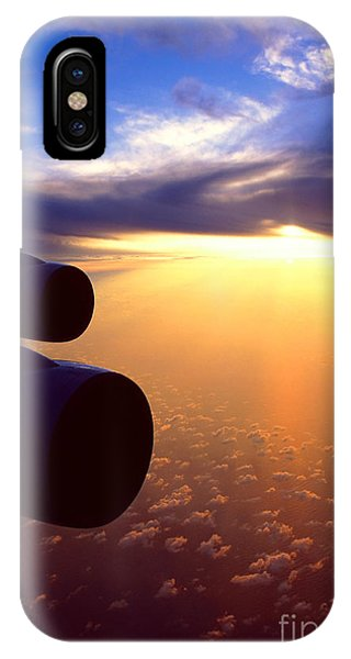 Sky Above 30000 Feet  IPhone Case