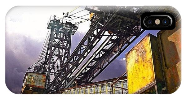 Detail iPhone Case - #sky #architecture #industrie #summer by Phil Grubers