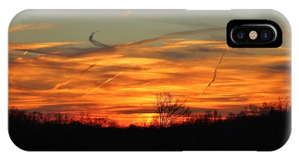Sky At Sunset IPhone Case