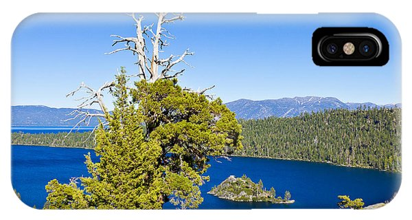 Sky Blue Water - Emerald Bay - Lake Tahoe IPhone Case