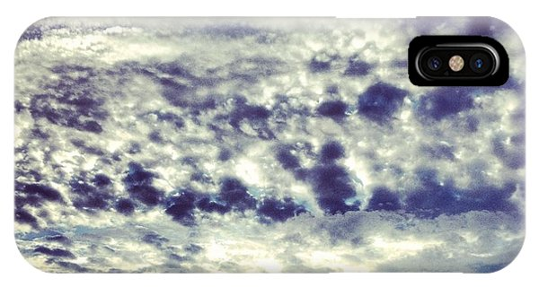 Blue iPhone Case - Sky by Christy Beckwith