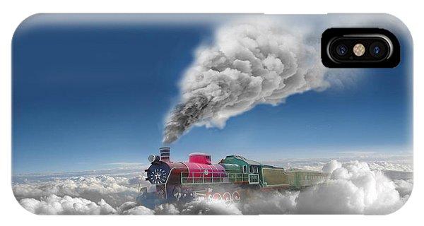 Sky Express Phone Case by Igor Zenin