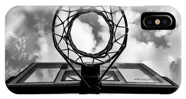 Sky Hoop Basketball Time IPhone Case