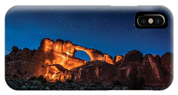 Sky Line Light IPhone Case