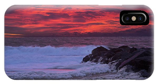 Sky On Fire In Lewes IPhone Case