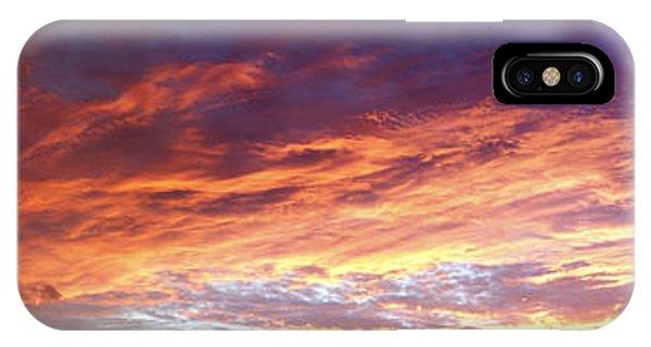 Sky On Fire IPhone Case